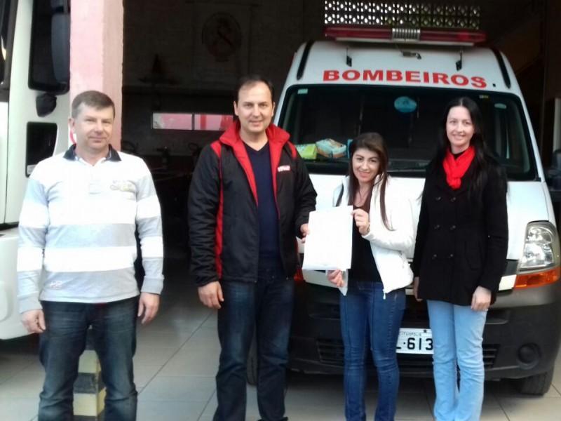 AEI faz parceria com Corpo de Bombeiros