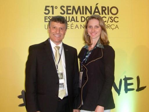CDL de Itaiópolis participa do 51° Seminário Estadual do SPC em Gaspar