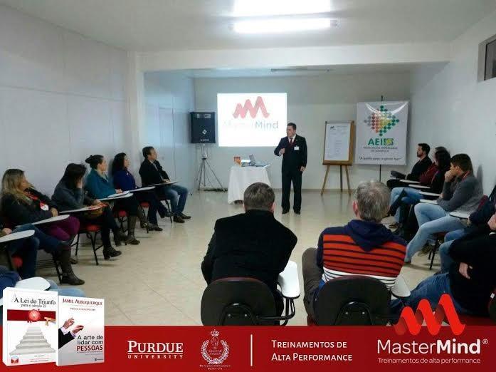 Inicia primeira turma do MASTER MIND LINCE na cidade de Itaiópolis