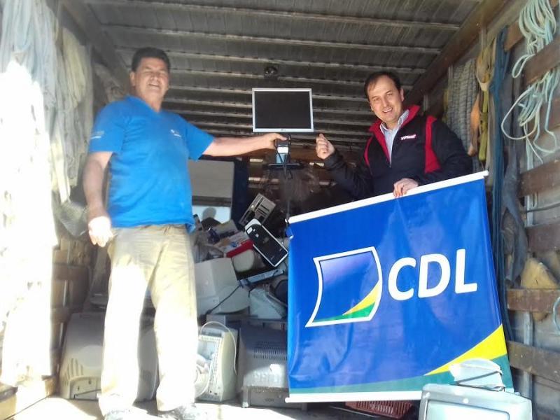 Recicla CDL %u2013  Campanha para coleta de lixo eletrônico